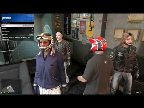 nL Live - Grand Theft Auto V: BIKER GANG BOYS [PS4]