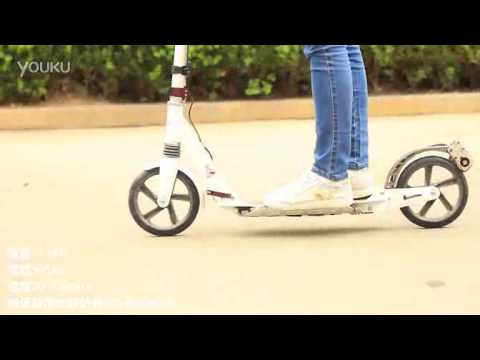 (L-faster) Change OXELO TOWN 7 scooter to be electric DIY electric scooter