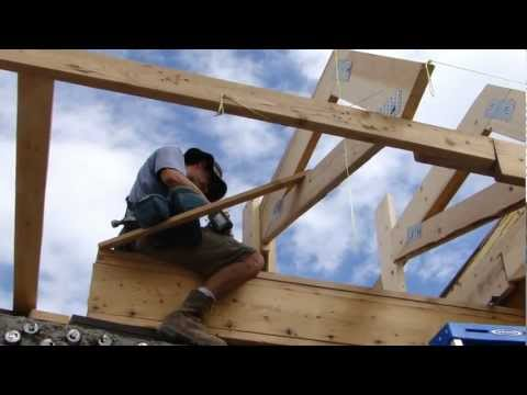 How to Build an Earthship Metal Roof - Part III