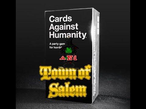 Let's Play Town Of Salem (W/ Friends) #7: Giant Mafia