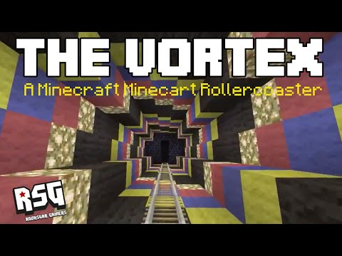 The Vortex - A Minecraft Minecart Rollercoaster