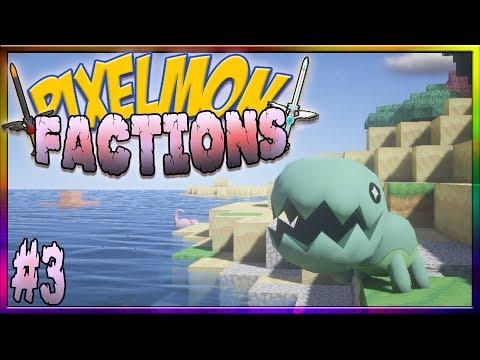 Pixelmon Factions Episode 3 - SHINY OMG! (Pixelmon Reforged #3)