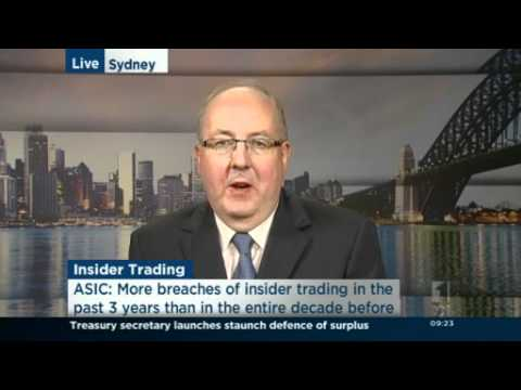 ASIC reveals more cases of insider trading