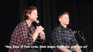 Jensen e Jared falam sobre como se conheceram