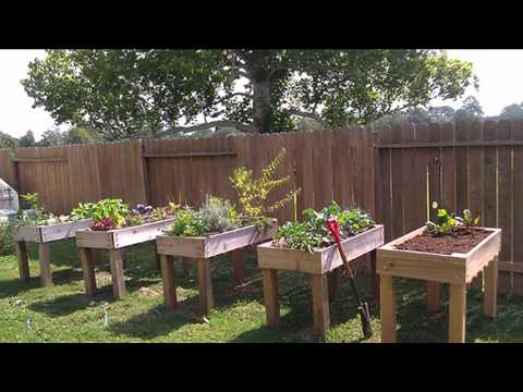 [Garden Ideas] raised vegetable planters
