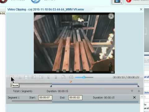 How to split a video to size with ANY VIDEO CONVERTER