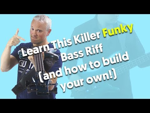 Learn This KILLER Funky Bass Riff (then build your own!)