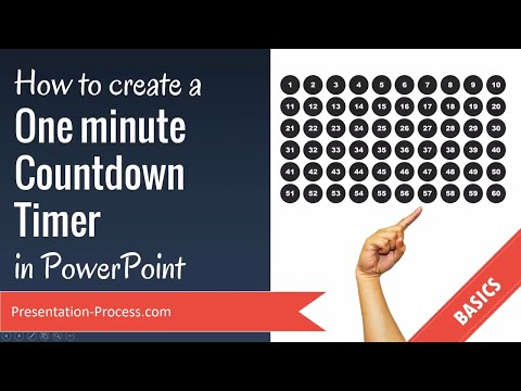 How to create a One minute Countdown Timer in PowerPoint