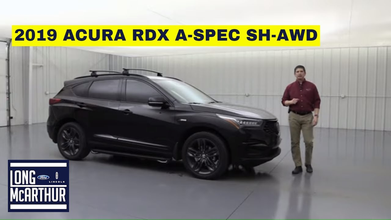2019 ACURA RDX ASPEC SHAWD 191138B