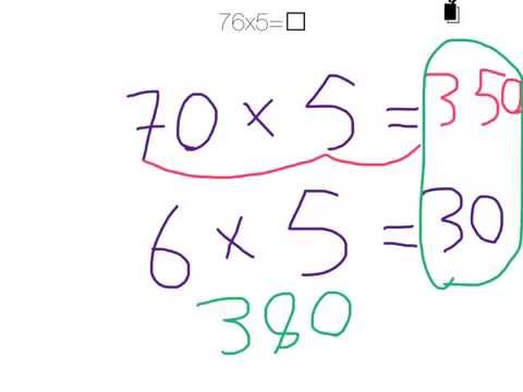 Using Place Value to Solve Multiplication Problems with 2 Digits