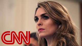 House panel issues subpoenas for Hope Hicks, Annie Donaldson