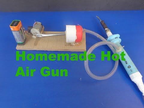 how to make homemade hot air gun