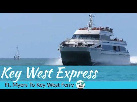 Key West Express - Ft. Myers to Key West Ferry