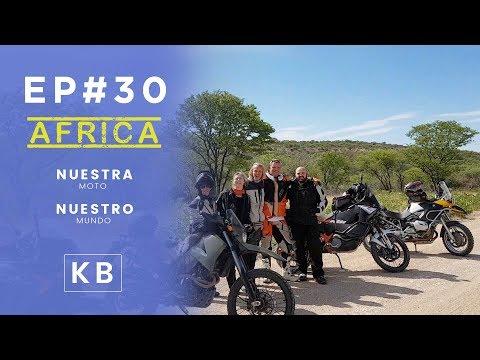 Conociendo a gente en Namibia - Ep#30 - Vuelta al Mundo en Moto