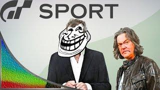 Gran Turismo Sport: Jeremy Clarkson trolls James May (GT Sport)