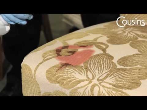 Stain Removal from Upholstered Furniture - Beetroot