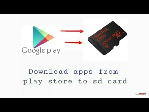 play store के apps को सीधे sd card मे  कैसे  डाले। install apps to sd card from playstore no root