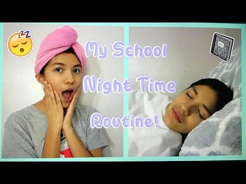 My School Night Time Routine!