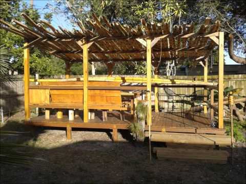 Mike and Aziza build a pallet deck !