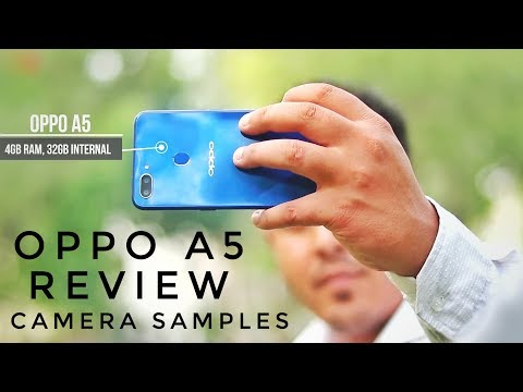 Oppo A5 Review, Camera, Face Unlock, Fingerprint Unlock & Gaming Test