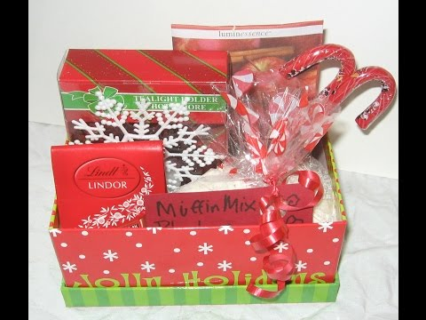 DIY CHRISTMAS GIFT IDEAS/ How to make Christmas Gift Boxes from the dollar Store