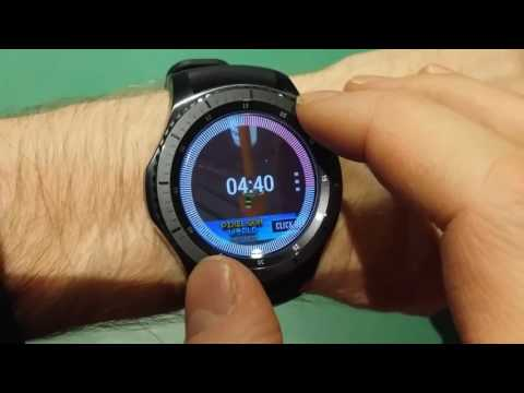 Samsung Gear S3 YouTube Player app on the watch!