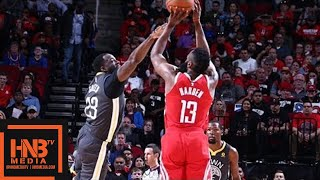 Golden State Warriors vs Houston Rockets 1st Half Highlights / Jan 20 / 2017-18 NBA Season