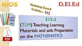 (TLM) Teaching Learning Materials and aids Preparation on the MATHEMATICS (in English)
