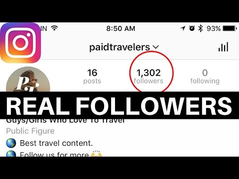 How To Get Over 1000 Real Instagram Followers In 7 Days  (with ANY account)