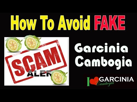 Here's How To Avoid Fake Garcinia Cambogia So You Don't Get Scammed
