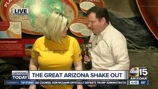 The Great Arizona Shake Out: How to prepare for an earthquake in AZ