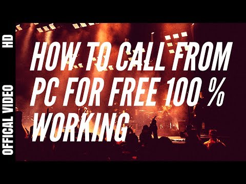 How to Call From PC For Free | (100% Working) | Easy Method | Online Calling