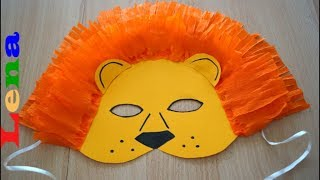 how to make lion mask