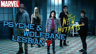 Psyche & Wolfbane Lesbian ? | The New Mutant Trailer Breakdown Podcast