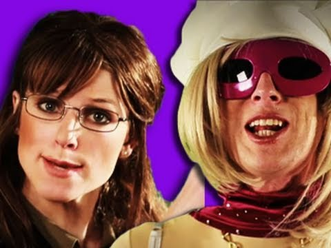 Sarah Palin VS Lady Gaga. Epic Rap Battles of History