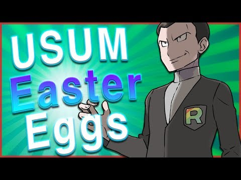 30 AWESOME Pokémon Ultra Sun and Ultra Moon Easter Eggs/References!