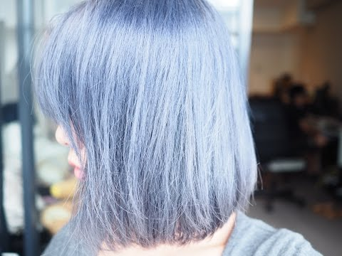 🌹 My Purple Silver Grey Hair Transformation 🌹