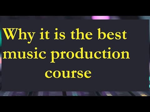 What makes this music production course the best