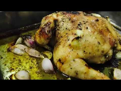 SIMPLE HONEY ROASTED CHICKEN!!
