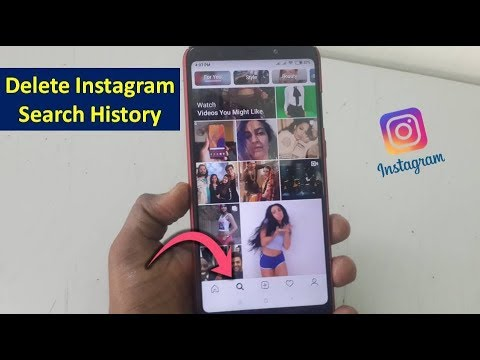 How to Clear Instagram Search History in Android Hindi-Urdu