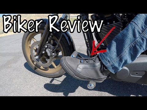 Bates Taser Motorcycle Riding Boots & Shoes-Biker Review
