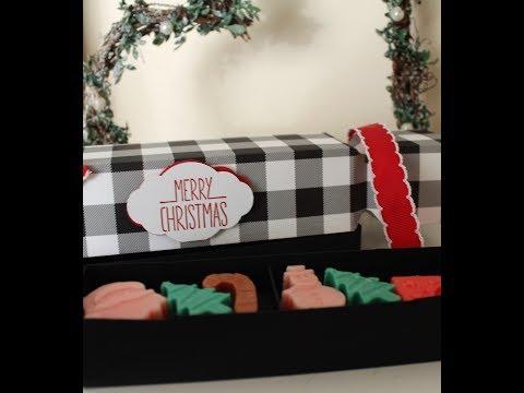 Double Layer Christmas Cracker Box