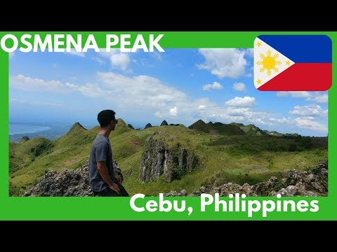 Better than Chocolate Hills of Bohol (Osmena Peak)