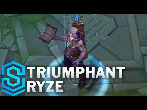 Triumphant Ryze Skin Spotlight - Pre-Release - League of Legends