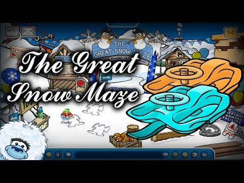 The Great Snow Maze! - Club Penguin Rewritten