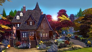 Download Witch's Cottage 🔮 || The Sims 4: Speed Build Video