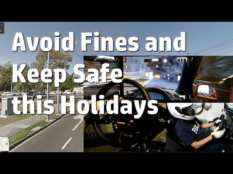 How to avoid traffic fines and stay safe this holidays