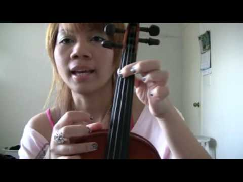 G Melodic Minor Scale on Violin