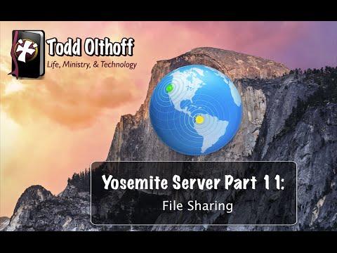 Yosemite Server Part 11: File Sharing