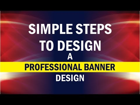 Flex Banner Printing Design in CorelDraw X-8,7,6,5,4,3 simple steps